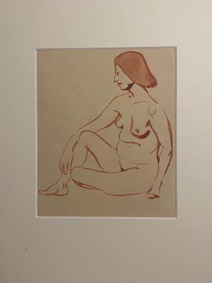 Nude by Jean-Ryamond Delpech - Artwork