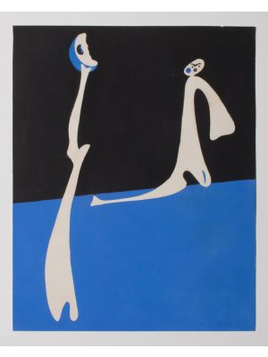 Abstract Composition by Joan Mirò - Contemporary Artwork