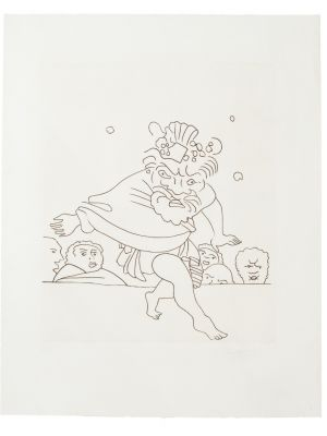 Dance by André Derain - Modern Artwork