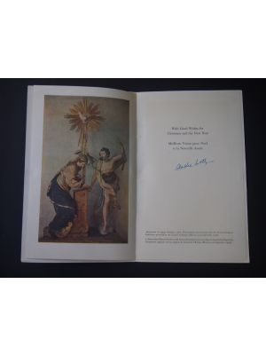 André Loth - Good Wishes Leaflet - Manuscripts