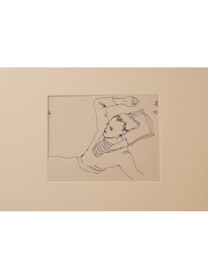 Young boy by Jean Cocteau - Modern Artworks