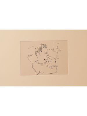 The boy by Jean Cocteau - Modern Artworks