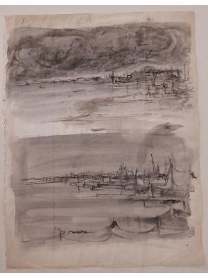 Landscape by Jan Peter Verdussen - Old Master Artwork