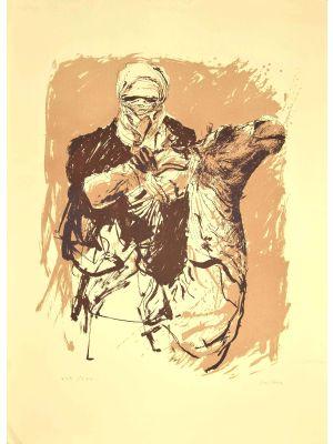 Camel rider by Sergio Barletta- Contemporary Artwork