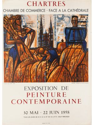 Chartres-Poster