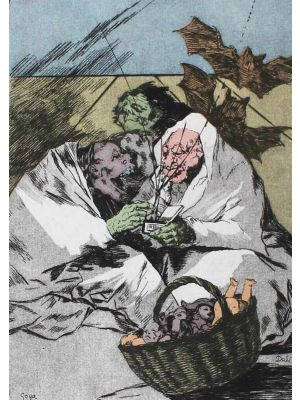 Mucho hay que existencializar from Dali's Caprichos by Goya by Salvador Dalì -  Contemporary Artwork