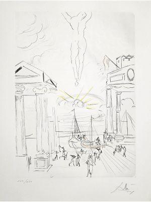 The Search for Golden Fleece by Salvador Dalì -  Contemporary Artwork