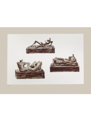 Figures by Henry Moore - Contemporary artwork