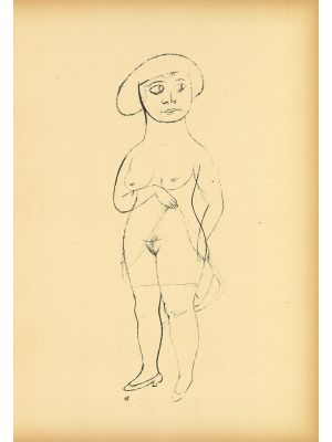 Commerzienrat's daughter from  Ecce Homo by George Grosz - Modern Artwork