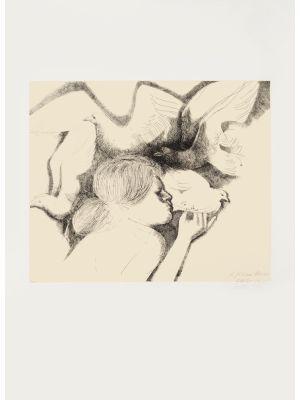 The Dove of Peace by Emilio Greco- Contemporary Artwork