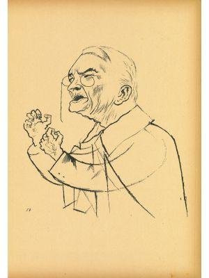 Ledebour  from  Ecce Homo by George Grosz - Modern Artwork