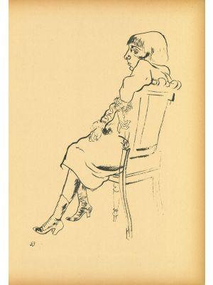 Study  from  Ecce Homo by George Grosz - Modern Artwork