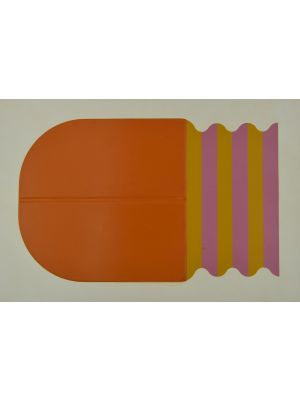 Orange curiosity by Shu Takahashi - Contemporary Artwork