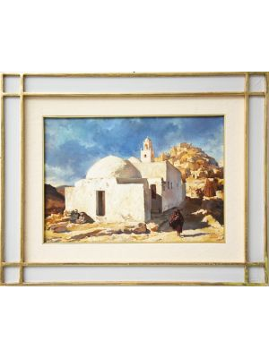 Tunisian landscape by Artist of XX century  - Modern Artwork