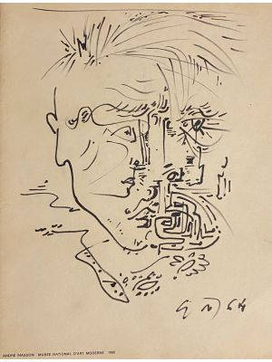 Abstract Composition by Andre Masson - Artwork