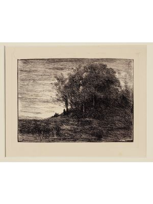 Landscape by Camille Corot - Prints & Multiples