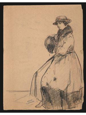 Figure of a Woman – Jean Bernard - Modern Art