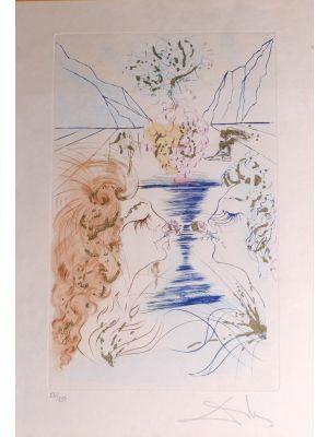 The Kiss by Salvador Dalì - Contemporary Artworks