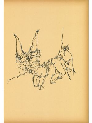 Acrobats from  Ecce Homo by George Grosz - Modern Artwork