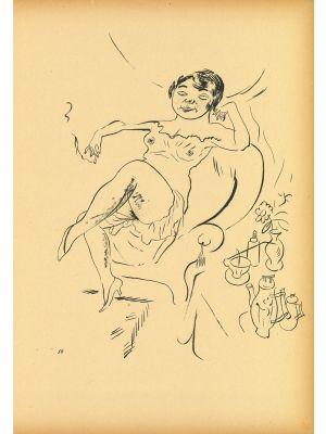 Woman from  Ecce Homo by George Grosz - Modern Artwork
