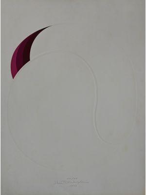 White ball Shu Takahashi - Contemporary Artwork