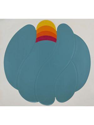 Turquoise Ball by Shu Takahashi - Contemporary Artwork