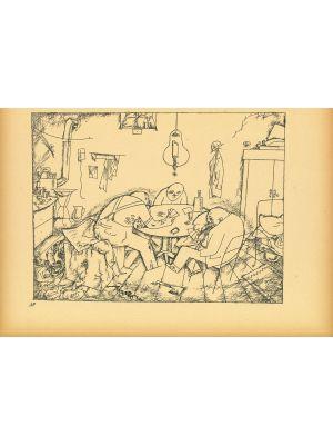 Apachen from Ecce Homo by  George Grosz - Modern Artwork
