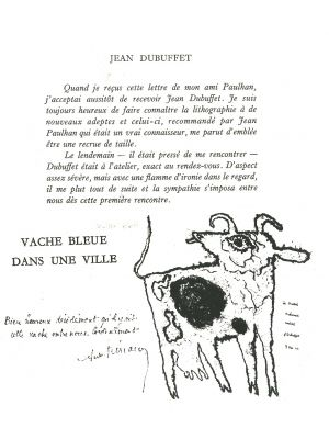 Plate 22 from A même la pierre by Jean Dubuffet - Contemporary Artwork