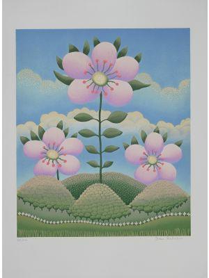 Fiore nel Paesaggio by Ivan Rabuzin - Contemporary Artworks