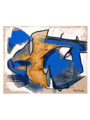 Blue and Yellow by Giorgio Lo Fermo -  Contemporary Artwork