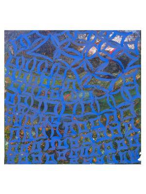 Blue Reticulum by Giorgio Lo Fermo - Contemporary Artwork
