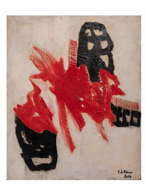 Red Shape by Giorgio Lo Fermo - Contemporary Artwork