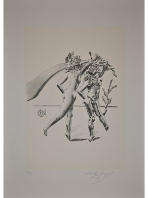The Dance  from the series The Arts by Salvador Dalì - Modern Artwork