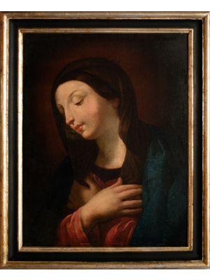 Praying Virgin Mary - Modern Artwork