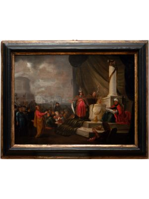 The Adoration of the Golden Calf by Jacob Willemsz -  Modern Artworks