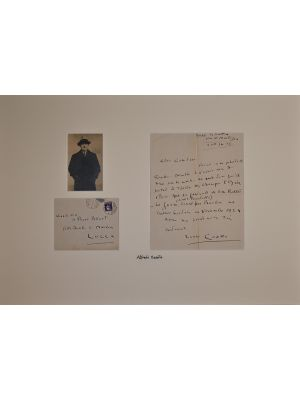 Casella Autograph letter by Alfredo Casella - Manuscripts