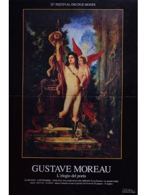 The Praise of the Poet by Gustave Moreau