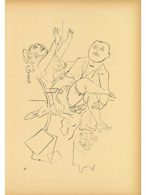 Happiness  from Ecce Homo by  George Grosz - Modern Artwork