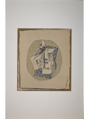 Still Life 1968 by Georges Braque