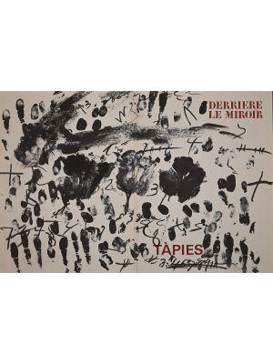 Derriere Le Miroir Cover by Antoni Tapies- Contemporary Artwork