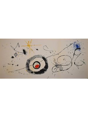 Untitled from Derrière le Miroir by Joan Mirò - Contemporary Artwork