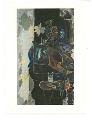 Paris: The Cauldron  from Derriere Le Miroir by George Braque - Contemporary Artwork