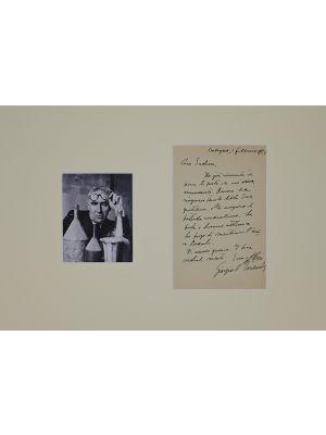 Giorgio Morandi Autograph letter by Giorgio Morandi - Manuscripts