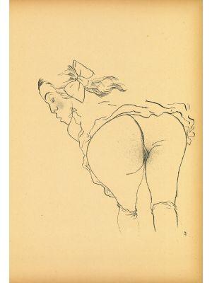Alone from Ecce Homo by  George Grosz - Modern Artwork