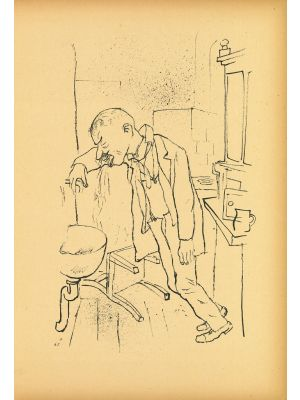 Composition from Ecce Homo by  George Grosz - Modern Artwork