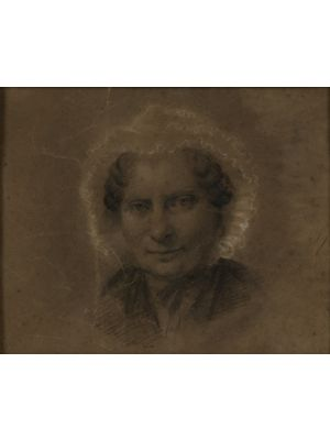 Portrait of an old woman by Anonymous - Modern Artwork