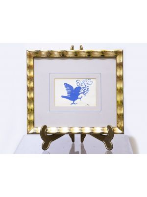 The Small Bird by Mino Maccari - Modern Artwork