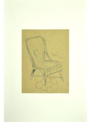 Wicker chair by Unknown artist - Artwork