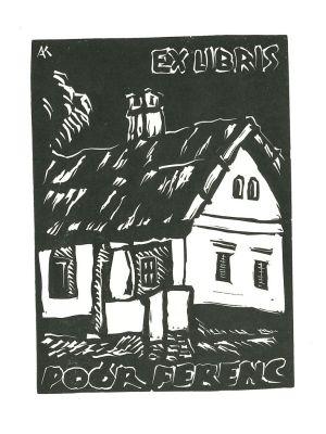 Ex Libris Poor Ferenc - Contemporary Artwork