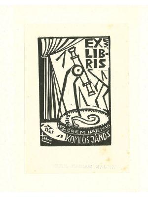 Ex Libris Komlos - Contemporary Artwork